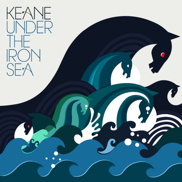 Under the iron sea - couverture CD