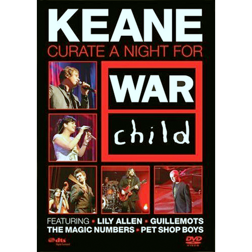 Keane curate a night for War Child (DVD)