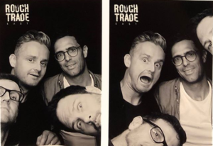 Keane au photomaton Rough Trade 2019